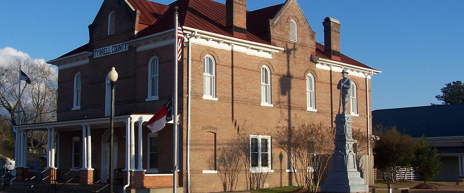 tyrrell county courthouse